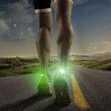 普及したスポーツ多彩なLEDの安全運動靴クリップライト