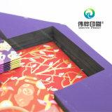 Exquisita torta de luna Impresión de papel caja de empaquetado