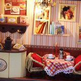 Chambre de poupée éducative en bois pour des gosses