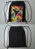 Il sacchetto di nylon promozionale riutilizzabile di ginnastica, il sacchetto di acquisto dello zaino del Drawstring, sacchetto dell'imbracatura di forma fisica, mette in mostra lo Zaino Gymsack, sacco di ginnastica di Gymbag
