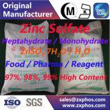 Nahrungsmittel-/Reagens-/Elektron-Grad des Zink-Sulfat-Znso4.7H2O/H2O