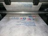 Máquina de impressão não tecida de Flexo da tela de três cores