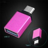 USB 3.1 вспомогательного оборудования мобильного телефона к Типу-C переходнике данным по OTG