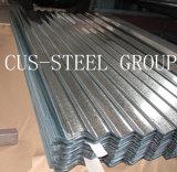 El panel de acero acanalado del material para techos del azulejo/acanaló el azulejo de material para techos galvanizado