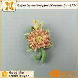Flores cerâmicas para decoração de casamento