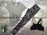 Быстро сухой костюм спортов для женщин/повелительницы, износа йоги, износа