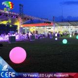 Luz de la bola clara al por mayor de plástico Solar LED para el jardín