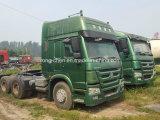 Niedriger verwendeter HOWO LKW-Schlussteil des Preis-375HP für Verkauf