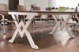 オフィスのプロジェクトのための現代メラミン会議の席の事務机のワークテーブル