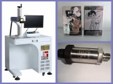 машина маркировки гравировки лазера волокна 20W