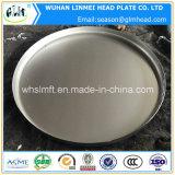 高品質のステンレス鋼の平らな皿に盛られたヘッド