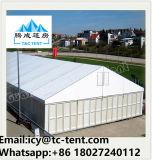 De klimaat Gecontroleerde Tent van het Pakhuis van de Markttent van de Opslag van de Structuur Clearspan voor Industriële Soltution