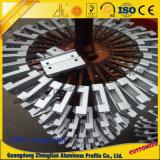 Perfil de alumínio industrial com processamento profundo do CNC