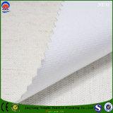Wasserdichte Gewebe-Flamme-abstoßendes überzogenes Leinen-Polyester-Gewebe für Vorhang
