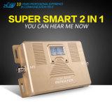 Servocommande à deux bandes de signal de téléphone mobile de 1800 GM/M des ventes 900/1800MHz GM/M de répéteur chaud de DCS 900/avec Quaity élevé