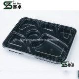 Recipiente de alimento afastado plástico descartável de 6 compartimentos (SZ-A601)