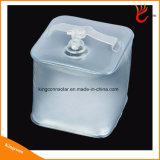 Водонепроницаемый ПВХ Складная надувная светодиодный куб свет Солнечный фонарь Кемпинг питания для наружного аварийного освещения