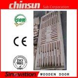 Puerta de madera interna