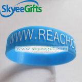 Bracelet gaufré en silicone gaufré avec fabricant de couleur