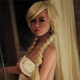 silicón femenino de la TPE del juguete de la belleza de la muñeca 155sex realista
