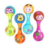 Kind-pädagogisches Orff-Instrument-Sand-Hammer-Baby-Plastikspielzeug