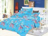 Beddegoed Vastgestelde T/C 50/50 van de Dekking van Koningin Size Polyester Custom Print Dekbed van het Huis van China Suppiler het Textiel Kleurrijke Goedkope