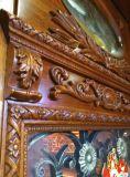 Portello di legno solido