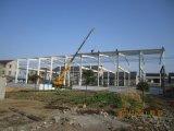 Estructura de acero de la alta calidad prefabricada del bajo costo para el almacén