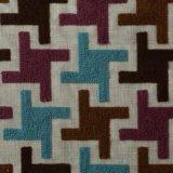 Tessuto domestico dell'ammortizzatore del poliestere della tessile di Embroiedered