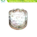 水センサーイベント党結婚式のための点滅LEDの氷のローズの立方体の白熱飲用に適した装飾
