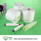 Hilo de coser hecho girar poliester de China Dyeable
