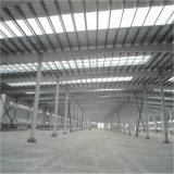 Magazzino della struttura d'acciaio di alta qualità con isolamento