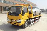 Isuzu 3 tonnellate del Wrecker LHD/Rhd di camion di rimorchio piano