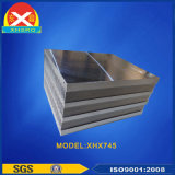 Perfil de alumínio anodizado para dissipador de calor com certificação ISO9001