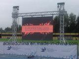Cartelera de la visualización de LED P8 para el deporte al aire libre del estadio