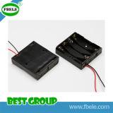 Cassetta portabatterie del collegare aa della grafite rossa e della cassetta portabatterie 18650