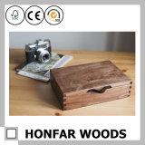 Caixa de armazenamento de madeira requintado da embalagem do presente para a decoração Home