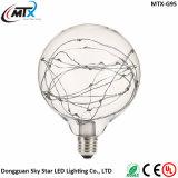 El bulbo LED del LED enciende la iluminación estrellada blanca caliente de la decoración del bulbo del ahorro de la energía 3W LED del CE ST64 de las luces de tira de la bombilla LED del LED