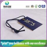 Étiquette de papier de coup d'impression de qualité (corde, petites)