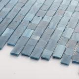 Mini azulejos de cristal reciclados de la hoja de la etiqueta engomada de los apartamentos del mosaico