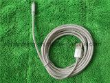 Cavo di carico Braided del USB dell'atmosfera di alluminio del nylon durevole di qualità superiore della lega per iPhone5S 6s