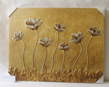 Branch Pattern Home Decorative gold Canvas Hanging Painting