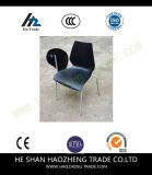 Hzpc025 수용량 요추 부목 및 은 프레임을%s 가진 백색 더미 의자