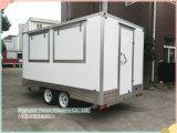 Parte superiore di Ys-Fb390c che vende l'automobile mobile dell'alimento del camion mobile dell'alimento da vendere