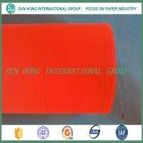 Tamiz de secado hilo plano para la fabricación de papel