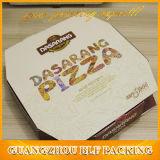 Vakje het Van uitstekende kwaliteit van het Document van Kraftpapier van de pizza Verpakkende