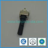 potentiomètre rotatoire de 9mm avec le long arbre pour des amplificateurs