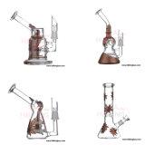 Tubo di acqua di fumo di vetro di fumo di vetro della fabbrica del negozio del tubo di acqua di nuova di disegno alta qualità del commercio all'ingrosso