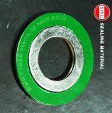 Кольцо CS наружное, Ss316 внутреннее кольцо, Ss316 заварка, заполнитель графита, спиральн набивка раны с сертификатом ISO9001: 2008