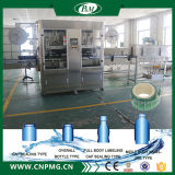 Doble-Cabeza de la botella de plástico Shrink Sleeve Packaging Equipment
